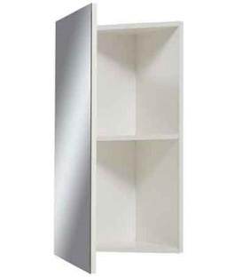 Угловой зеркальный шкаф в ванную Стандарт Z-40 СанСервис