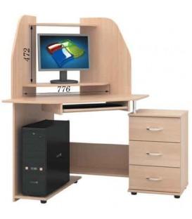 Угловой компьютерный стол СКУ-05 РТВ-Мебель