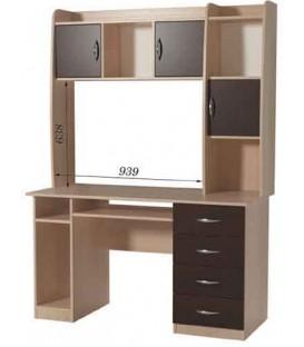 Компьютерный стол СПК-08 Н-16 РТВ-Мебель