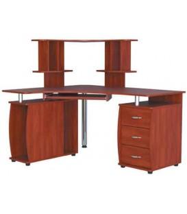 Угловой компьютерный стол СКУ-02 Н-12 РТВ-Мебель