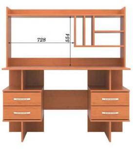 Письменный стол СП-09 Н-03 РТВ-Мебель
