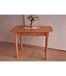 Стол кухонный простой с шухлядой Барвінок
