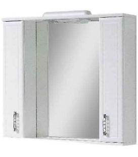 Зеркало в ванную со шкафчиками Рио 80 Van Mebles