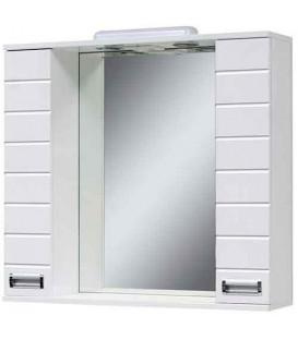 Зеркало в ванную со шкафчиками Бостон 75 Van Mebles