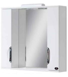 Зеркало в ванную со шкафчиками Лора 80 Van Mebles