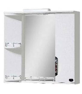 Зеркало в ванную поворотное со шкафчиком Лора 80 Van Mebles