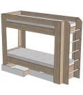 Двухъярусная кровать ВР-79 Вертикаль