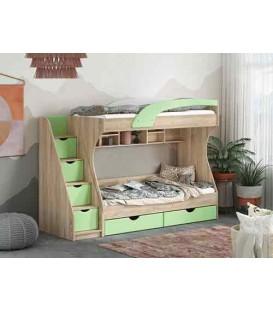 Двухъярусная кровать Кадет Пехотин