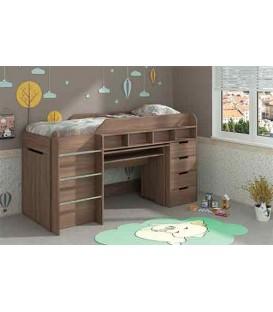Кровать чердак Легенда Пехотин
