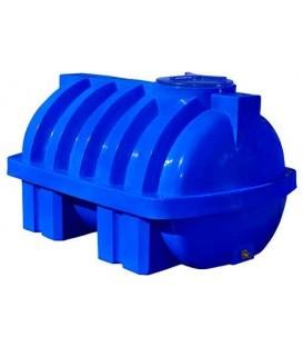 Емкость горизонтальная с ребром двуслойная 1500 л (ГО 1500 RGД Р)