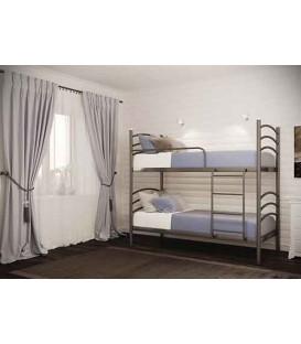 Двухъярусная кровать Маргарита (Металл-Дизайн)