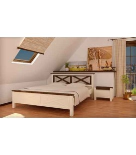 Деревянная кровать Прованс MebiGrand