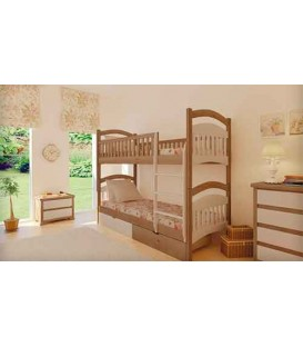 Двухъярусная кровать Жасмин MebiGrand