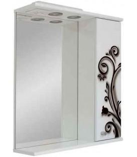 Зеркало в ванную Черно-белая кованка Пик