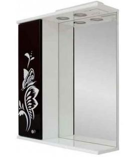 Зеркало в ванную Черно-белая бабочка Пик