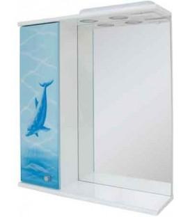 Зеркало в ванную Дельфин Пик
